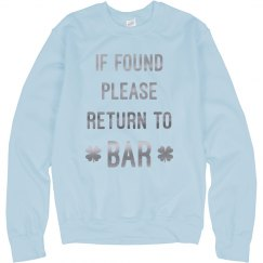 Please Return Me To The Bar
