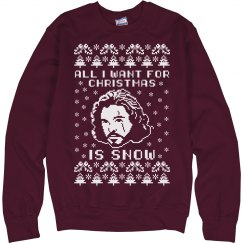 Jon Snow Holiday Ugly Sweater