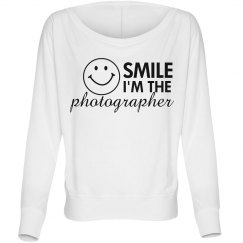 Smile Im The Photographer