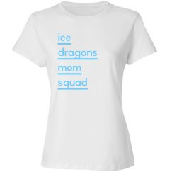 #20-Ladies Relaxed Fit Tee-Port&Co Brand-Squad-White