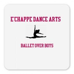 Ballet Over Boys Magnet