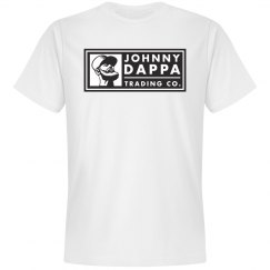 Johnny Dappa Trading Co. Black & White Horizontal Tag