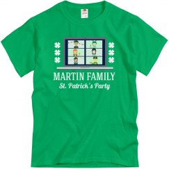 Virtual St. Patrick's Family Custom Tees