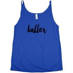 Baller Basketball Tank Top