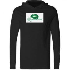 Unisex Long Sleeve Jersey Hooded Tee