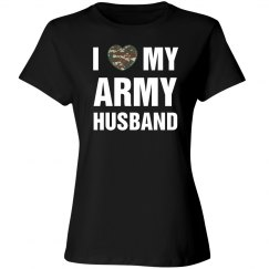 I love my army husband
