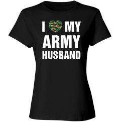 I love my army husband
