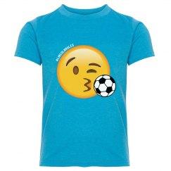 KIDS: Emoji Soccer Practice Tee (more colors)