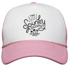 Trucker Hat Spunky Logo