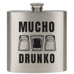 Mucho Drunko Flask