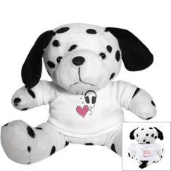 Music Heart Puppy Dog