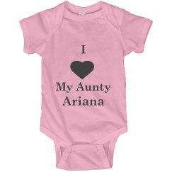 i love my Aunty Ariana