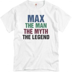 Max the man