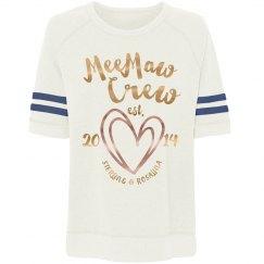 MeeMaw Grandparents Day Birth Announcement Gift Idea