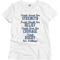 Trade rugby for nothing!