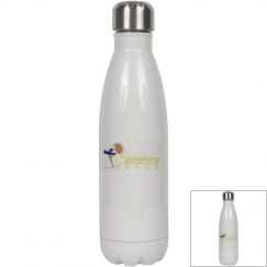 White Symphony Water Bottle