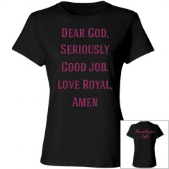 Going Commando, Royal's Prayer 2