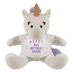 1st Birthday Unicorn