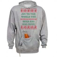 Joy To The World Beer Ugly Sweater