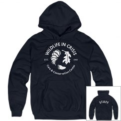 Navy Hoodie-staff only
