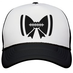 Football Mom Hat With Bow