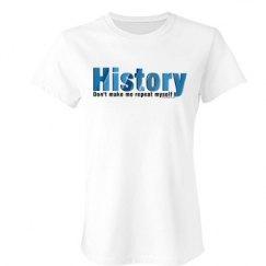 Blue Repeat History