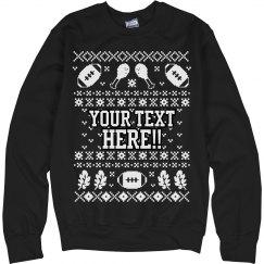 Football Fall Sweater