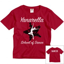 YSD Red Youth Tee