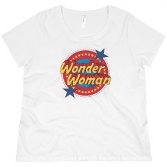 Wonder Woman Emblem Plus Tee