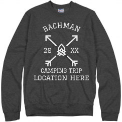 Family Camping Trip Group Sweatshirts