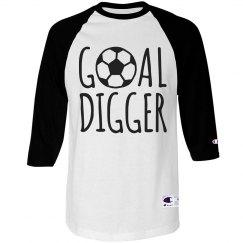 Goal Digger Soccer Shirt