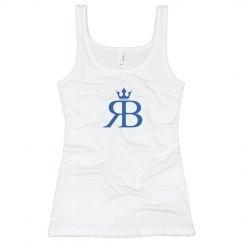 Red Bottoms Tank- Blue Logo