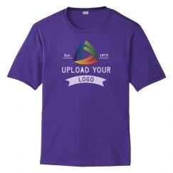 Upload Your Logo Custom Unisex Performance Tee