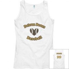 Delran Baseball Women's Tank