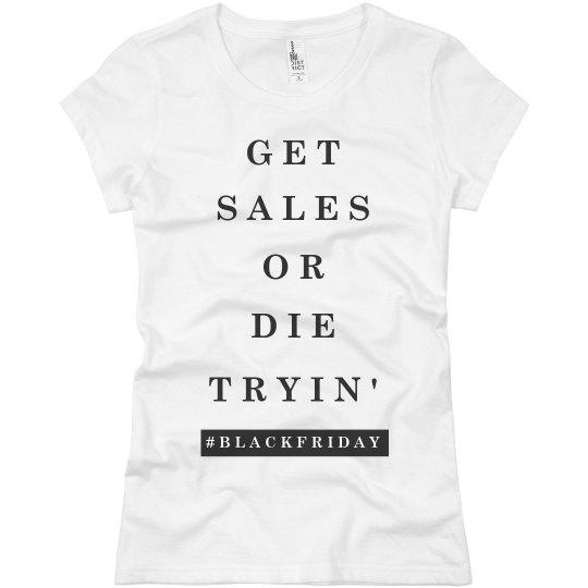 e9d7c862 Black Friday Funny Shirt Ladies Slim Fit Basic Promo Jersey T-Shirt
