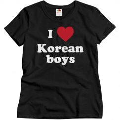 I love Korean boys!