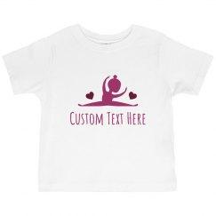 Little Ballerina With Custom Text