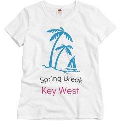 spring break key west