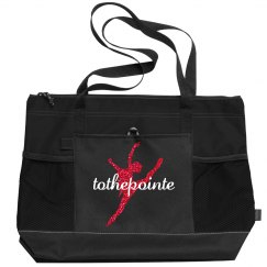 Black/Red Tote