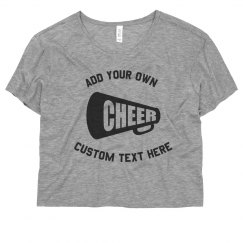 Personalized Cheer Tee