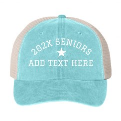 Custom Senior Year Snap Back