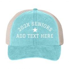 Custom Senior Year Snap Back