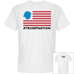 Johnny Dappa Trading Co. Premium Trump Nation T-Shirt W