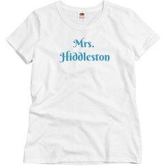 Mrs. Hiddleston