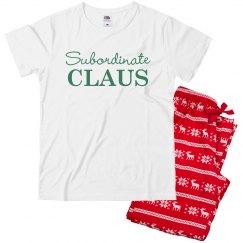 Subordinate Claus PJs