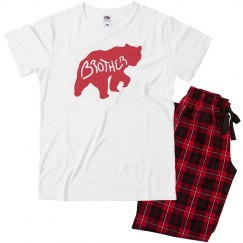 Red Plaid Brother Bear Matching Family