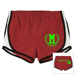 MONSTER ARMY LADIES SHORTS