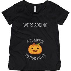 We're Adding A Pumpkin To Our Patch
