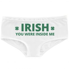 Sexy St Patricks Day Undies