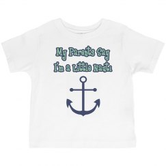 Toddler Boy/Girl Nauti Shirt